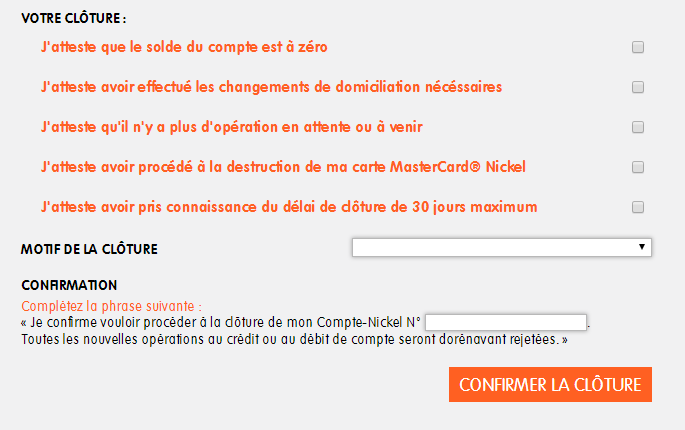 Comment Fermer Mon Compte Nickel Centre D Aide Nickel