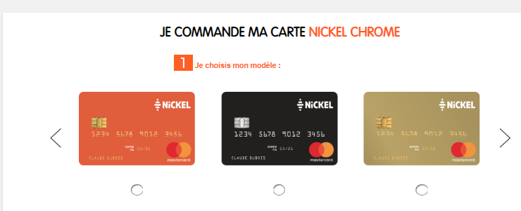 compte nickel carte gold Commander et activer ma carte Nickel Chrome – Centre d'aide | Nickel