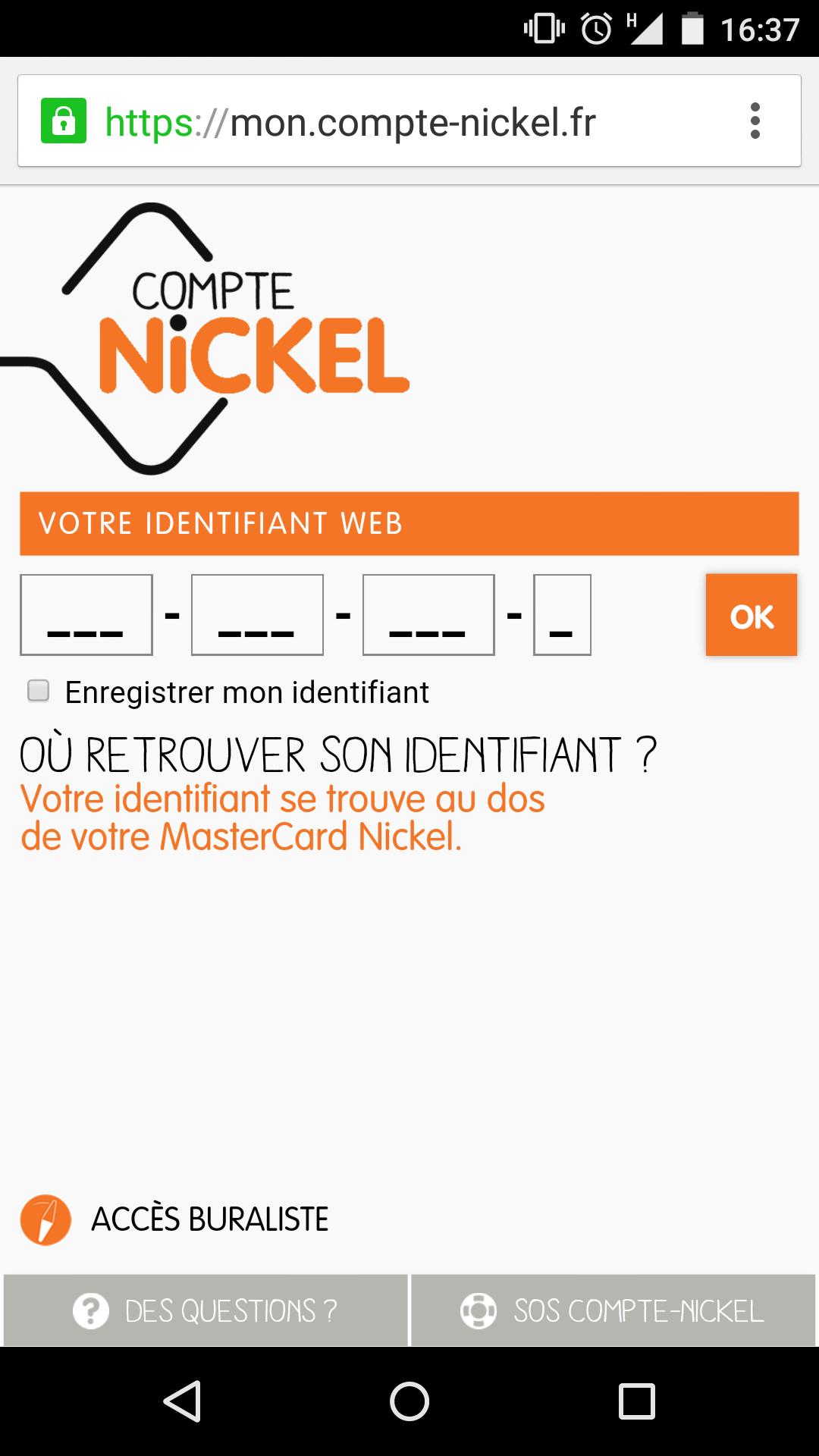 mi cuenta-nickel android